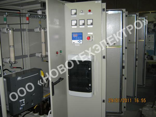 Автоматические конденсаторные установки 6, 10 кВ.