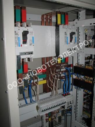 типовая схема электрощита