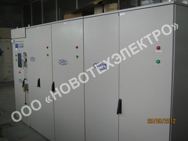 Автоматические конденсаторные установки 6кВ, 1100кВАр.
