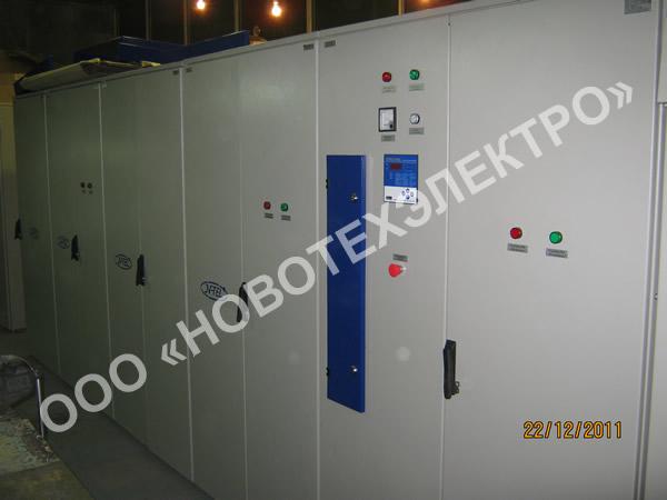 Автоматические конденсаторные установки 6кВ, 2100кВАр.